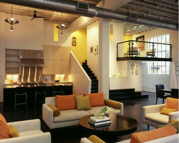 Loft contempor neo moderno for Interior design moderno e contemporaneo