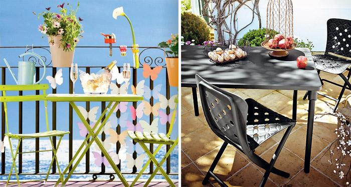 Muebles para terrazas jardines y balcones de el corte ingl s for Mesas de patio baratas