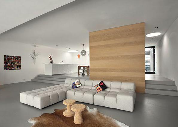 decoraci n abierta y minimalista