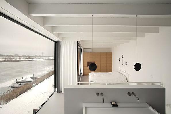 Decoraci n abierta y minimalista for Lujo interiores minimalistas