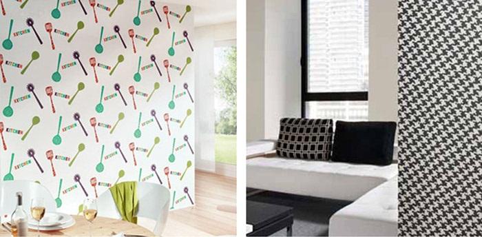 Papel pintado de moods - Decorar paredes con papel pintado ...