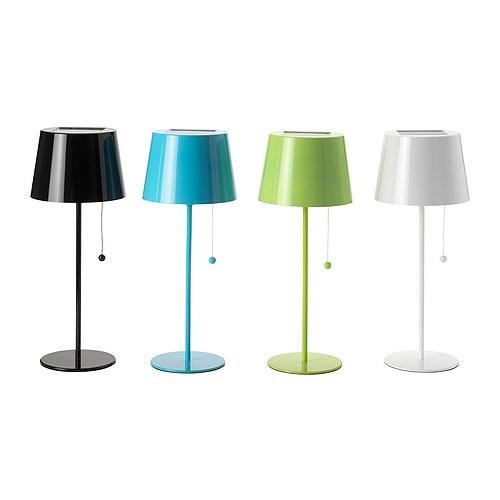 Lámparas Solvinden solares de Ikea