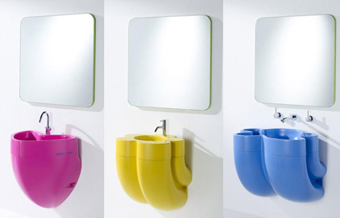 Azulejos Baños Agatha Ruiz Dela Prada:Muebles de baño de Ágatha Ruiz de la Prada