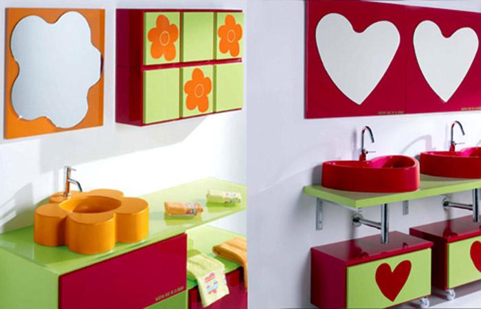 muebles de baño de Ágatha ruiz de la prada - Azulejos Bano Agatha Ruiz Dela Prada