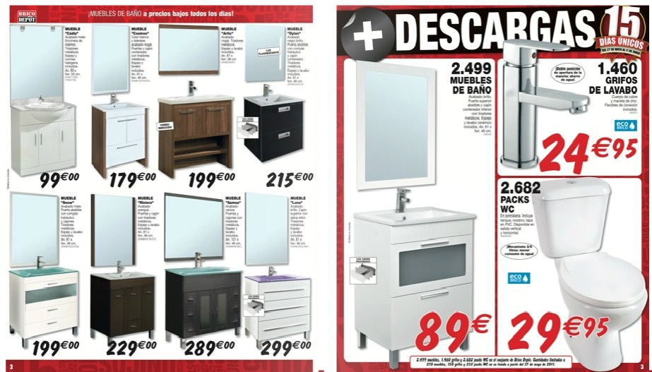 Decorablog revista de decoraci n - Armarios de bano brico depot ...