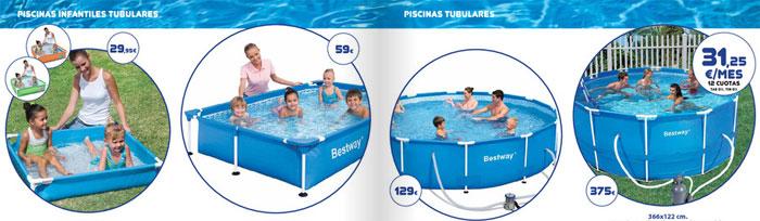 Cat logo de piscinas el corte ingl s 2011 for Ofertas piscinas desmontables el corte ingles