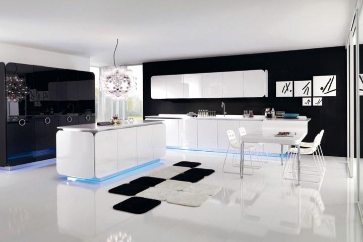 Cocina minimalista de euromobil for Decoracion minimalista cocina