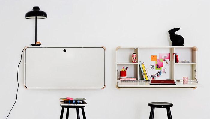Escritorio infantil plegable de pared for Mesa escritorio infantil