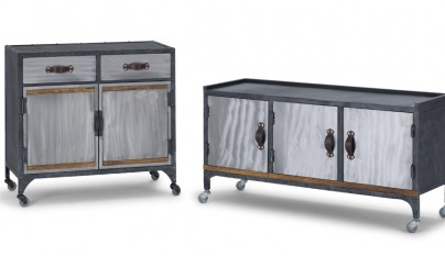 Muebles de estilo industrial for Muebles reciclados para un estilo industrial