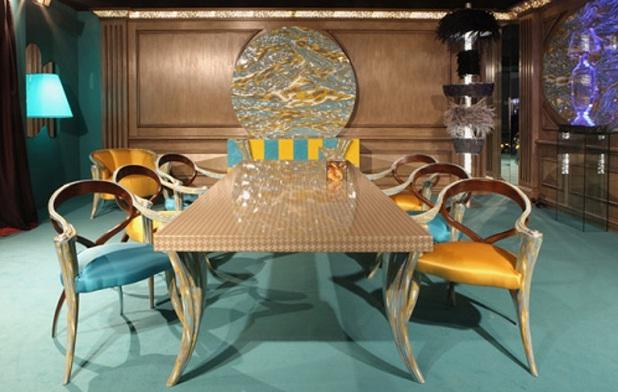 Mueble Baño Turquesa:Muebles en amarillo y turquesa