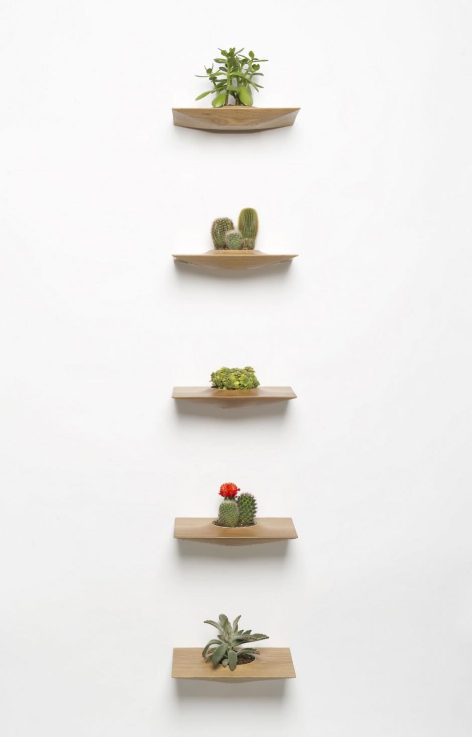 Plantas en la pared por domenic fiorello - Macetas de pared ...