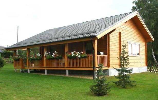 Casas de madera - Casas de madera bonitas ...