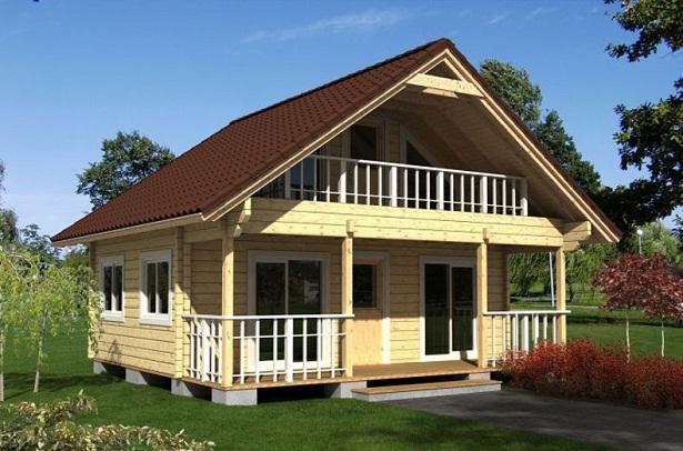 Casas de madera - Casas de madera canadienses en espana ...