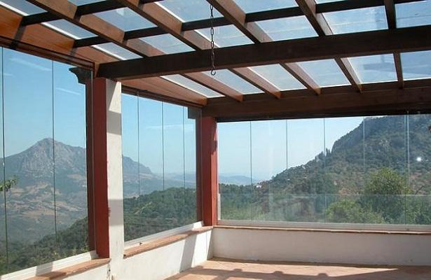 Cortinas de cristal - Balcones de cristal ...