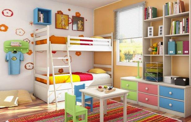 Ordenar la habitaci n de los ni os - Ordenar habitacion ninos ...