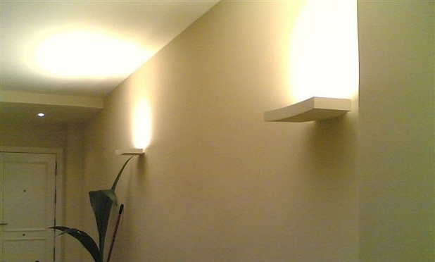 Apliques de pared para el hogar for Apliques de pared exterior led