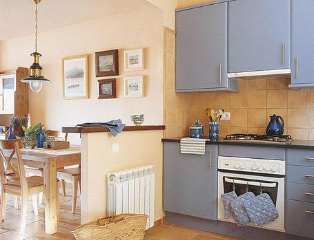 Decorablog revista de decoraci n - Cocinas con office fotos ...