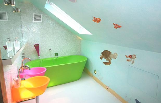 Baños Ninos Pequenos:Cuartos de baño para niños