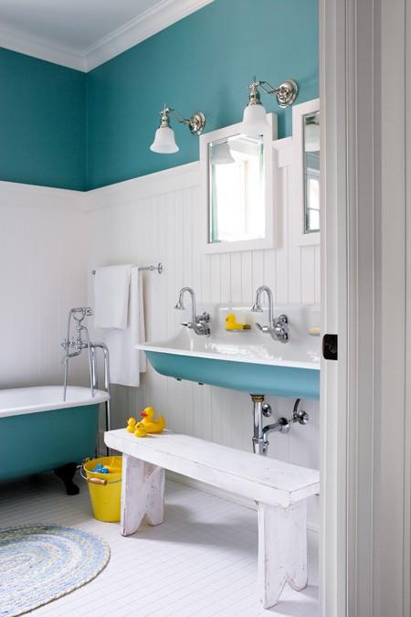 Baños Para Jardin De Ninos:Kids Bathroom Color