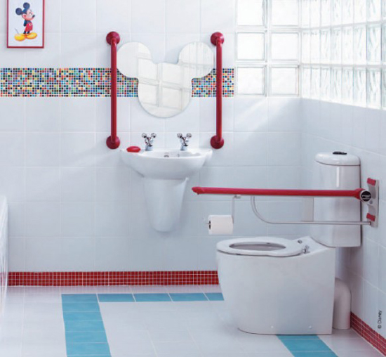 Baño Para Jardin Infantil:Cuartos de baño para niños (6/10)
