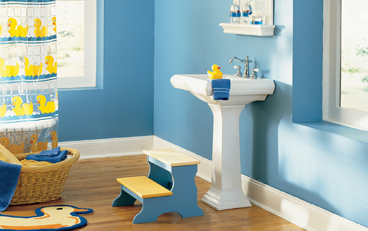 Baños Para Jardin De Ninos:Kids Bathroom Idea