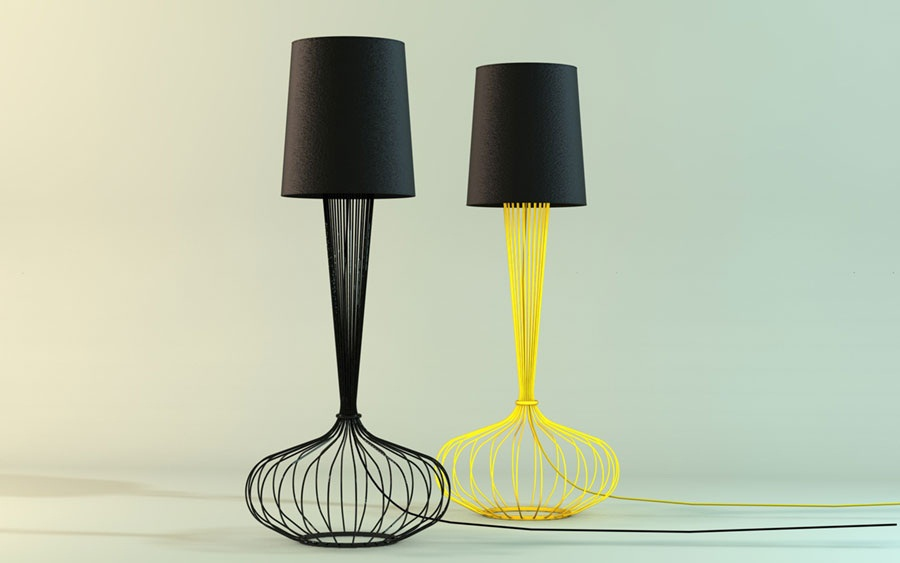 L mparas originales para la mesita de noche - Lamparas de mesa originales ...