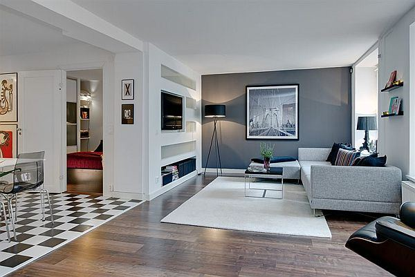 Apartamento de Marisol Ibarra Modern-unique-stylish-apartment