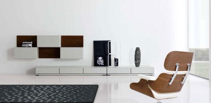 Muebles modernos para el salón