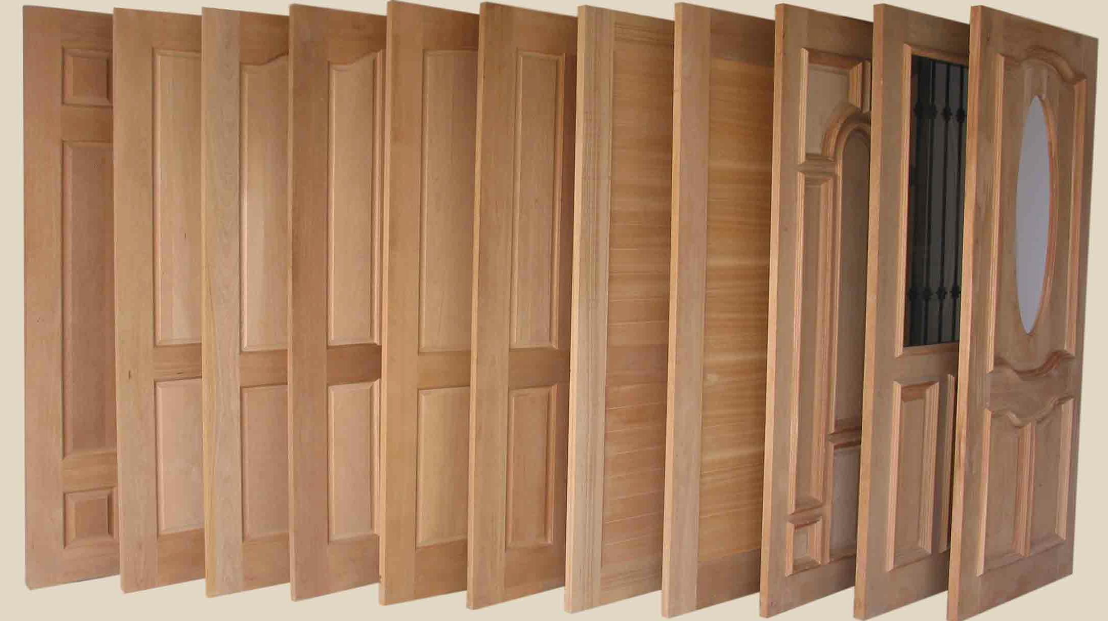 Puertas de madera exterior auto design tech for Puertas de madera interiores