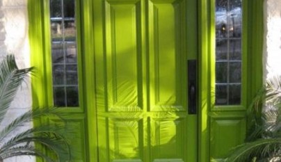 Decorablog revista de decoraci n for Idealista puertas verdes