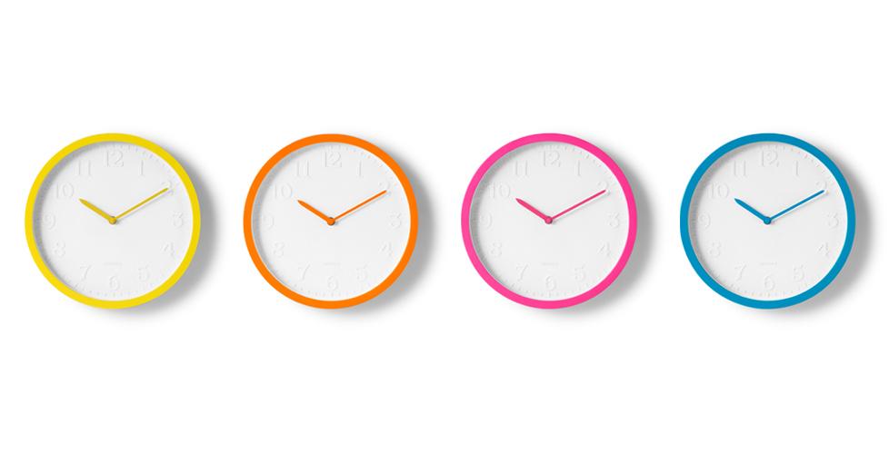 Relojes de pared de colores - Relojes para decorar paredes ...