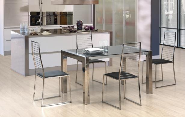 Decorablog revista de decoraci n for Cocinas estrechas con mesa