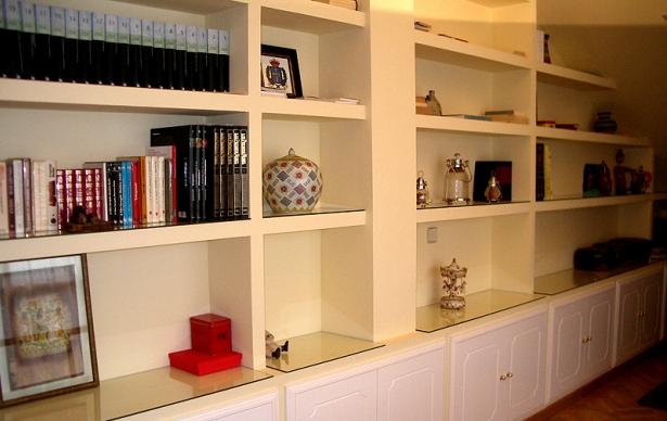 El pladur en el hogar for Muebles de pladur para salon