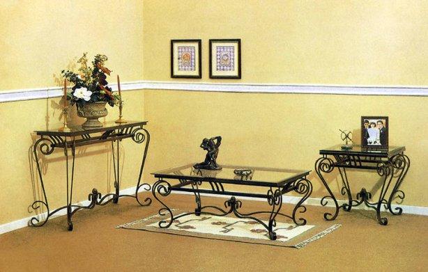 Restaurar un mueble de hierro for Muebles de jardin de hierro forjado