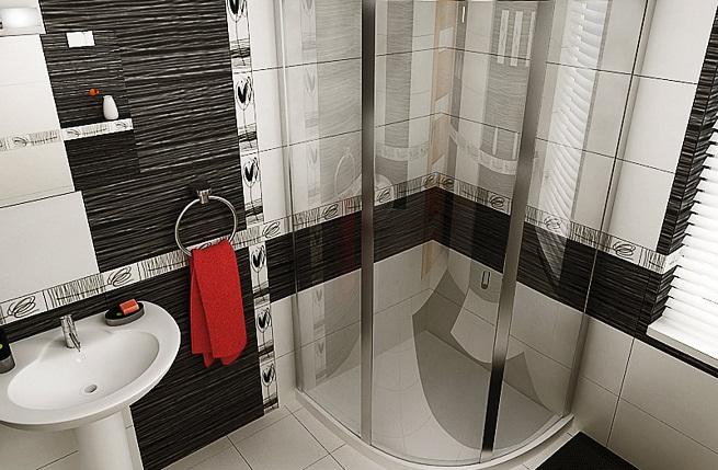 Baño Pequeno Moderno:Cómo ahorrar espacio en el baño