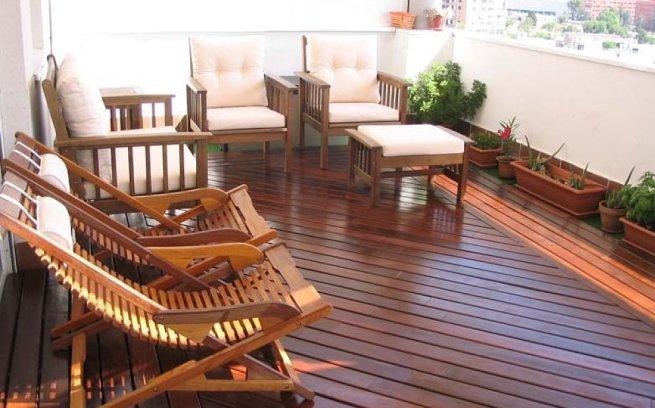 Decoración para exteriores: terrazas y balcones