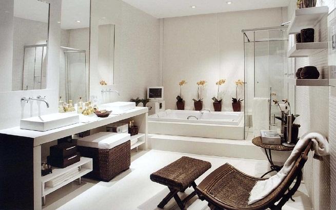 baos con tina modernos pequeos con ducha y tina imagui baos con tina modernos