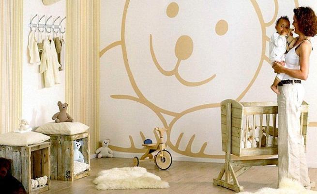 Vinilos decorativos en la habitaci n del beb for Habitacion bebe con vinilos