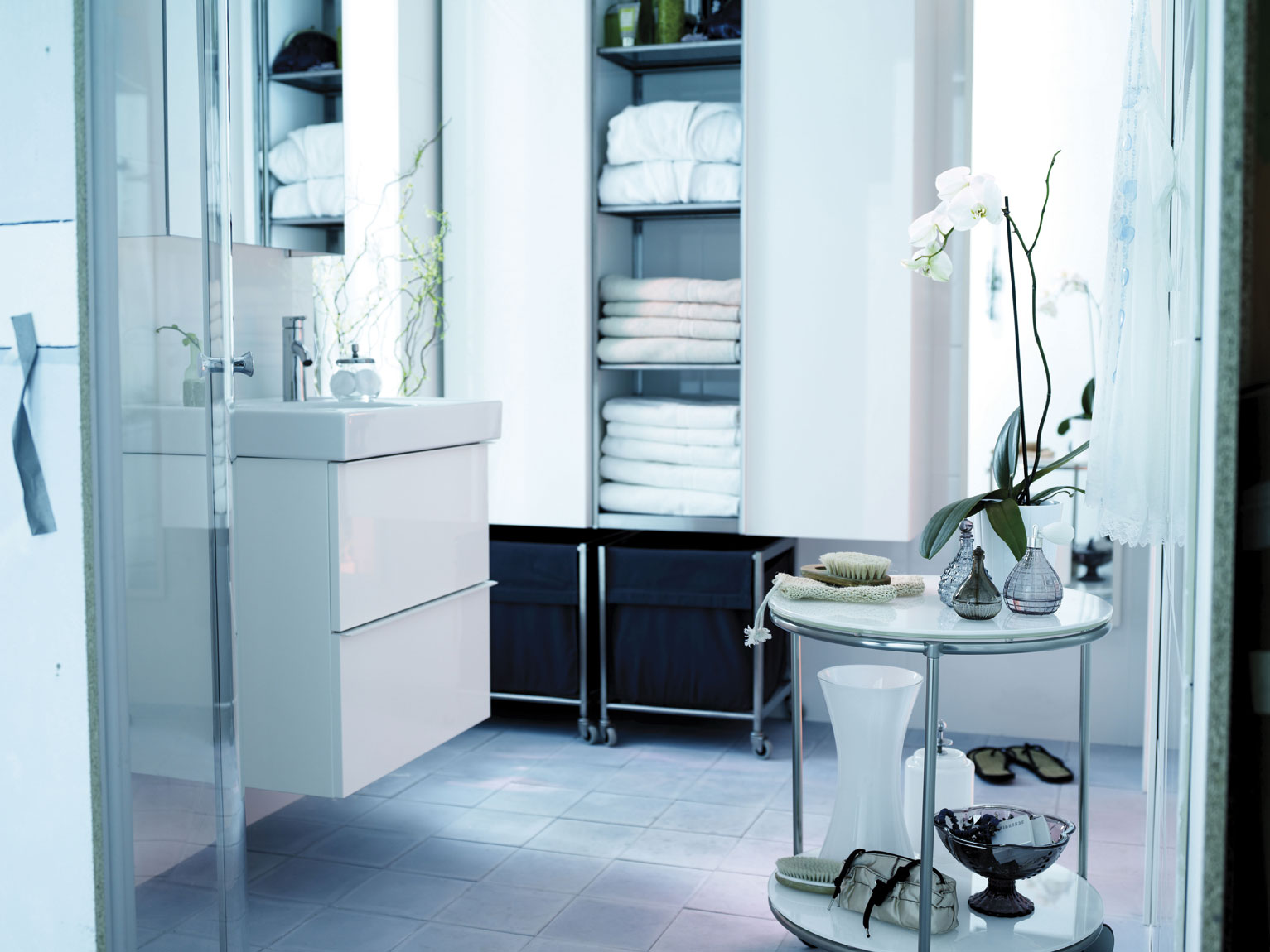 Ba os ikea 2013 - Ikea muebles auxiliares de bano ...
