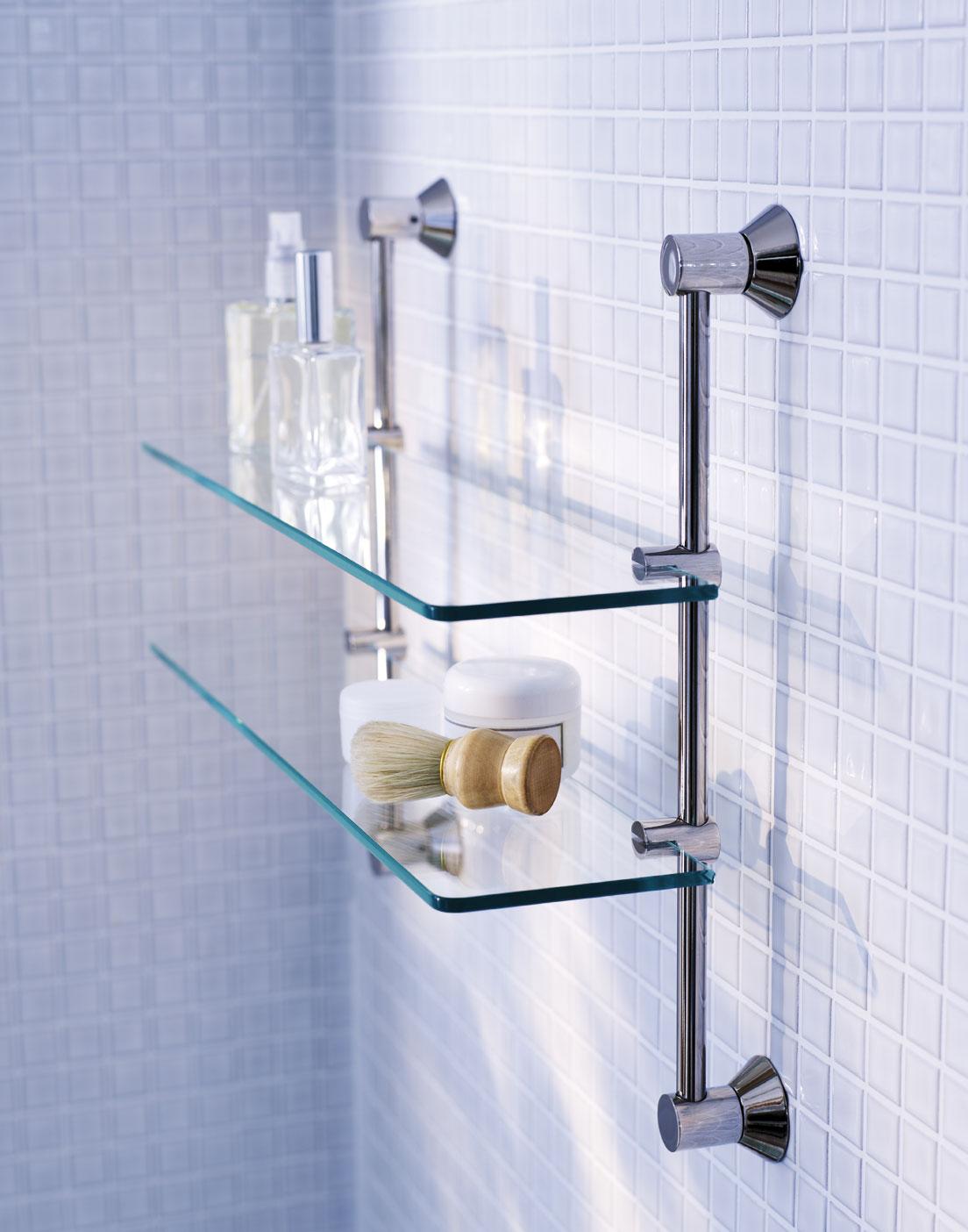 Estanterias para ba o conforama for Estanterias de cristal para banos