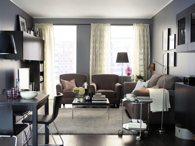 Cucine Soggiorno Ikea: Cucina open space soggiorno e a vista ...