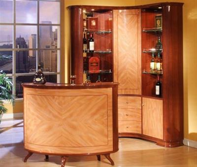 Minimalist Mini-Bar Design