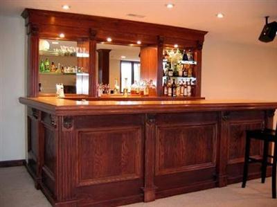 Decorablog revista de decoraci n for Modelos de bares de madera