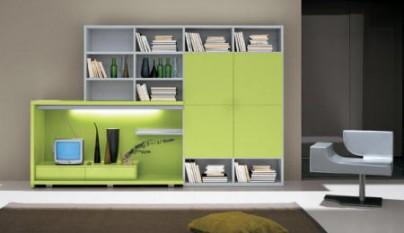 Salones de color verde - Colores de salones ...