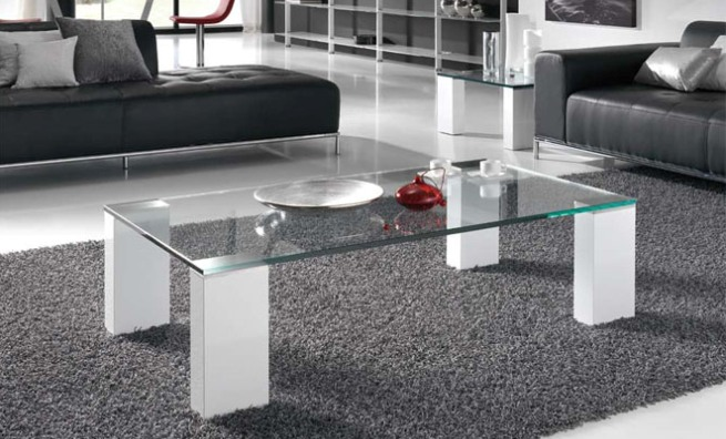 Pintar mesas de vidrio - Mesas de centro en vidrio ...