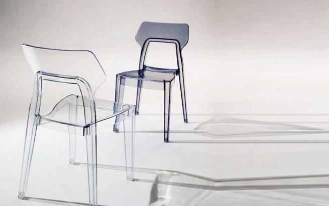 sillas transparentes On sillas cocina transparentes