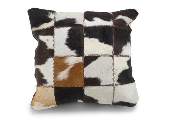 Alfombras y cojines de cuero de vaca2 for Alfombras de cuero