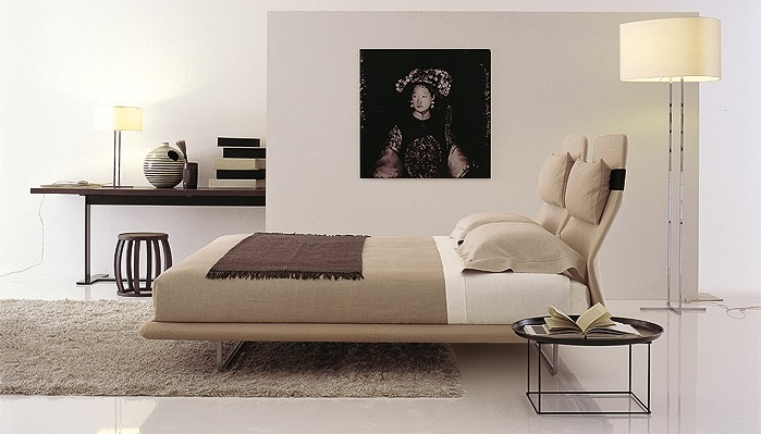 camas de dise o italiano. Black Bedroom Furniture Sets. Home Design Ideas