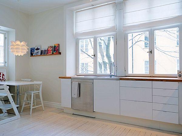 Cocinas de color blanco24 - Cocinas de color blanco ...