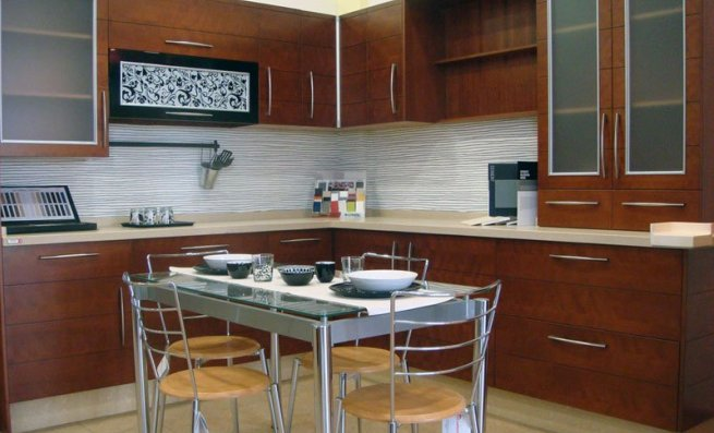 Cocinas de madera for Amoblamiento dormitorios matrimoniales